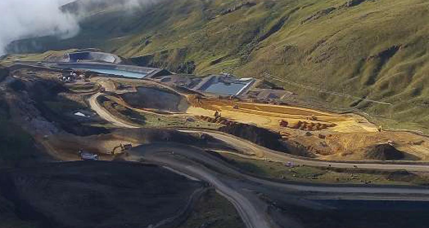 Construcción DMO – Minera Coimolache