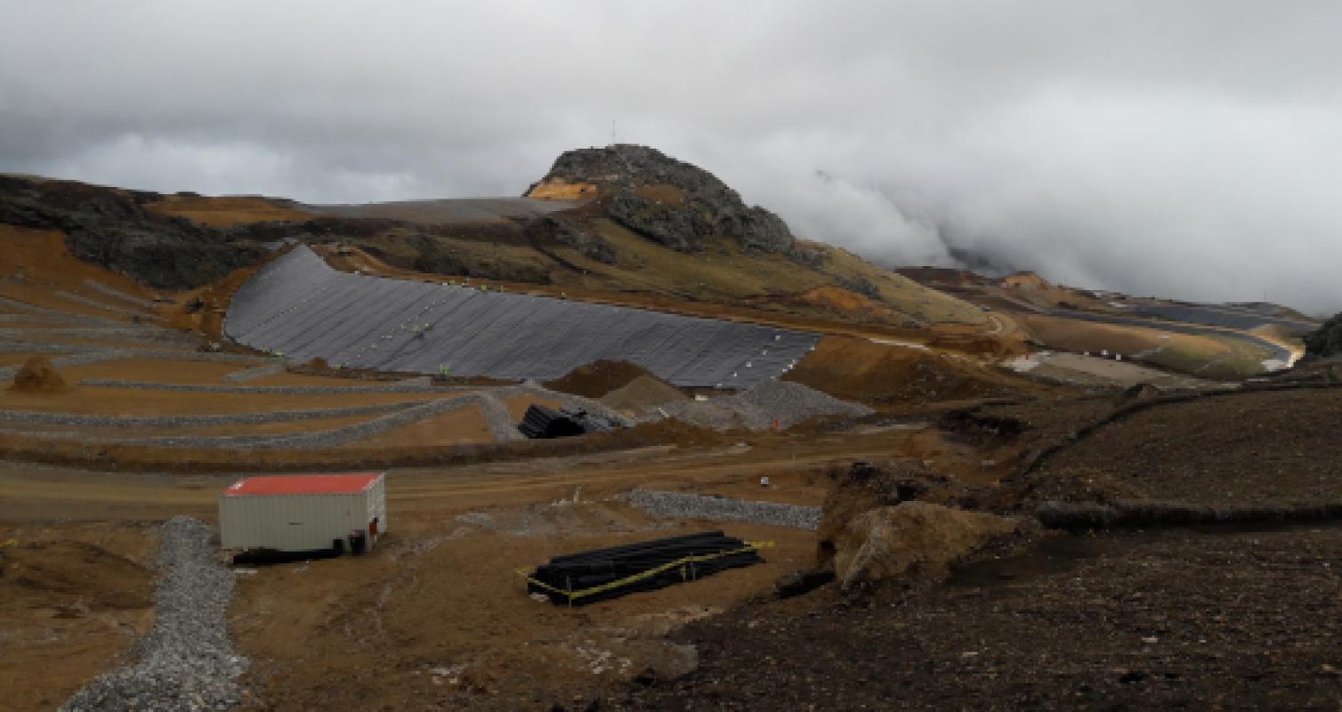 Construcción DMI – Minera Coimolache